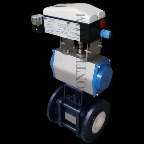 CV4200CL Ceramic V Notch Ball Valve