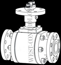 High Temperature Ceramic Ball Valve Appearance